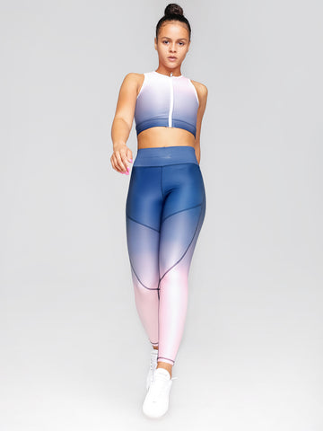 Elevate Grip Tights Blueberry Blush