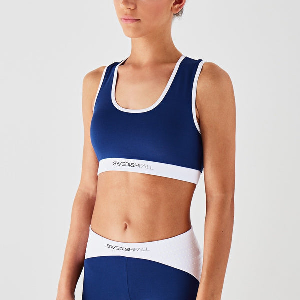 Sports Bra Blueberry