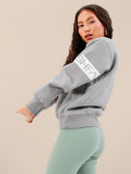 The Essential Pure Cotton Chunky Sweater Grey