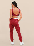 The Essential Comfy Jogger Burgundy