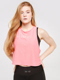 Candy Mesh Top Marshmallow