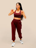 Off The Grid Jogger Burgundy