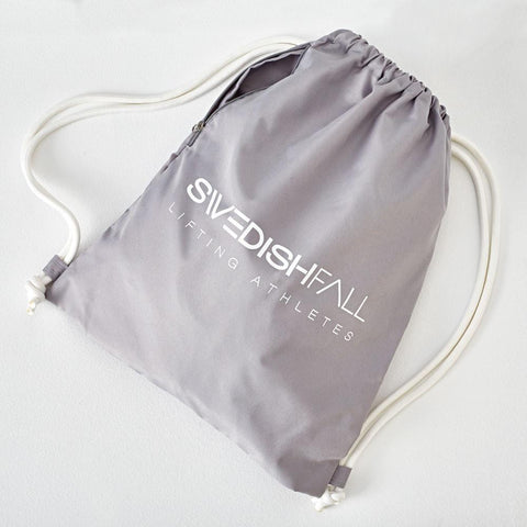SWEDISH FALL Cheerleading Gym Bag Grey Grau Vorderseite