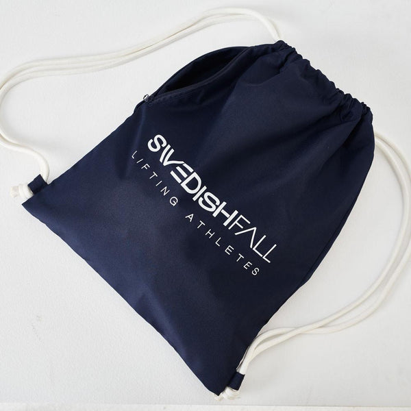 SWEDISH FALL Cheerleading Gym Bag in Navy Blue Vorderseite