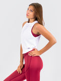 Elevate Tank Top Pure White
