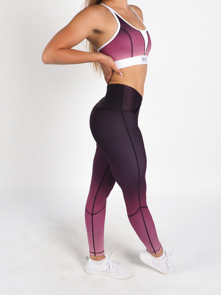 Flex Waist Tights Purple Blush