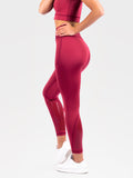 Elevate Grip Tights Red Velvet