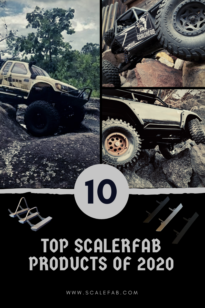 Top ScalerFab Products of 2020, News scalerfab-r-c-trail-armor-accessories scale rc crawler truck hobby Traxxas Axial Redcat Racing Element RC Horizon Hobby Tower Hobby