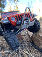 Narrow Winch Front Bumper for Axial Racing SCX10 III Jeep Wrangler JLU/Gladiator - scalerfab-r-c-trail-armor-accessories scale rc crawler truck hobby