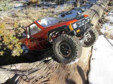 Comp-Style SCX10/SCX10 II Front Bumper with Trail Bar
