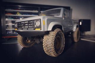 Element RC Enduro Sendero/Sendero HD Full-Size Front Bumper - scalerfab-r-c-trail-armor-accessories scale rc crawler truck hobby