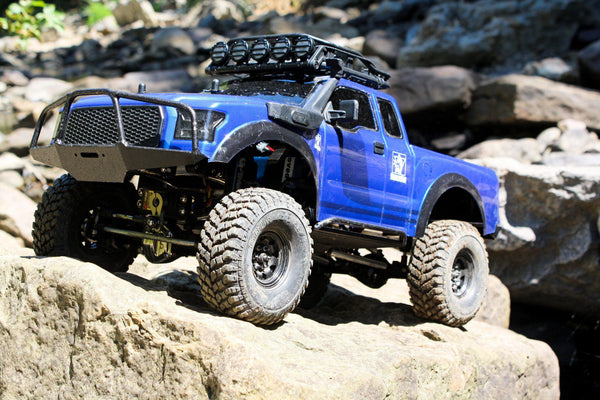 G-Made Komodo Front Bumper with Brush Guard - scalerfab-r-c-trail-armor-accessories scale rc crawler truck hobby