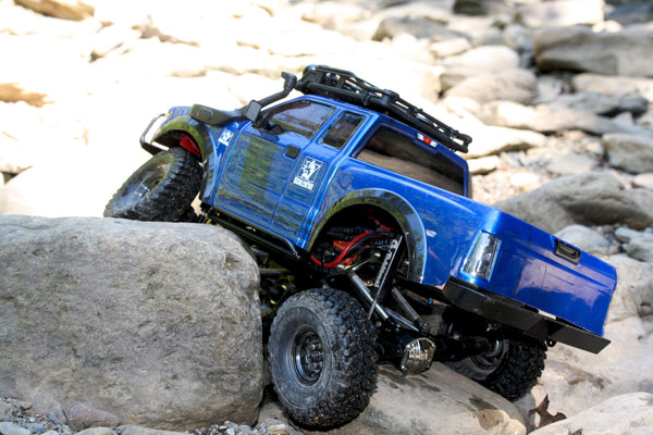 G-Made Komodo Rock Sliders - scalerfab-r-c-trail-armor-accessories scale rc crawler truck hobby