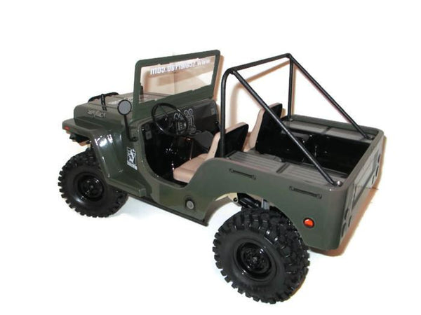 G-Made Sawback 4-pt. Roll Bar - scalerfab-r-c-trail-armor-accessories scale rc crawler truck hobby