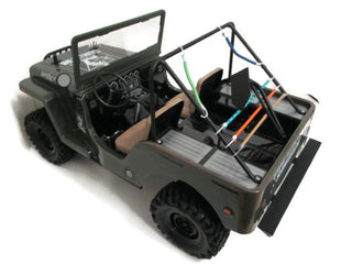 G-Made Sawback Rear Bumper - scalerfab-r-c-trail-armor-accessories scale rc crawler truck hobby