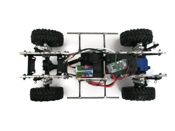 G-Made Sawback Standard Rock Sliders - scalerfab-r-c-trail-armor-accessories scale rc crawler truck hobby
