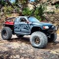 SCX10/SCX10 II Narrow Raised SR5/Honcho Front Bumper with Trail Bar