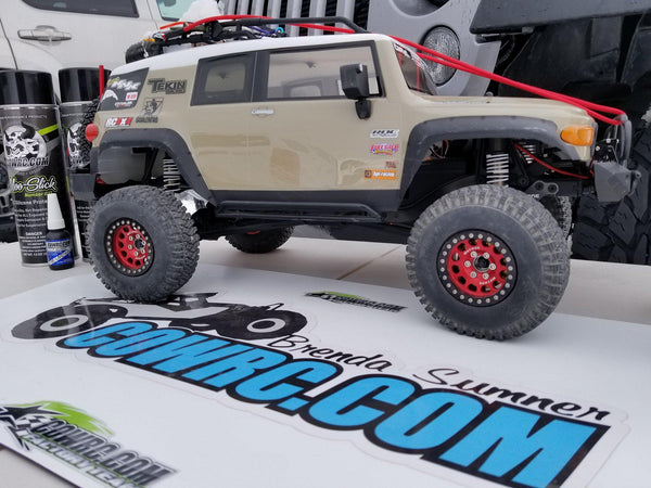 HPI Venture FJ Cruiser Rock Sliders - scalerfab-r-c-trail-armor-accessories scale rc crawler truck hobby