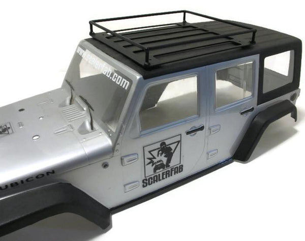 Large Universal Basket-style Roof Rack - scalerfab-r-c-trail-armor-accessories scale rc crawler truck hobby