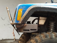Prerunner Series SCX10/SCX10 II XJ  Front Bumper - scalerfab-r-c-trail-armor-accessories scale rc crawler truck hobby
