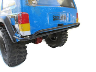 PreRunner Series SCX10/SCX10 II XJ Rear Bumper - scalerfab-r-c-trail-armor-accessories scale rc crawler truck hobby