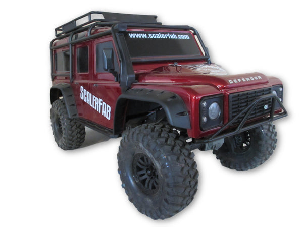 Prerunner Series Traxxas TRX4 D90 Front Bumper - scalerfab-r-c-trail-armor-accessories scale rc crawler truck hobby