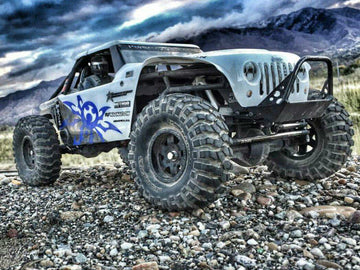 Pro Series SCX10/SCX10 II Narrow Front Bumper with Trail Bar