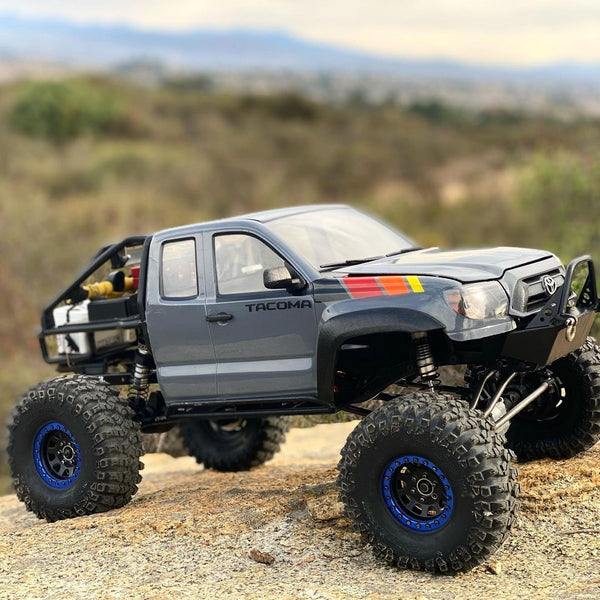 Pro Series SCX10/SCX10 II Narrow Raised SR5/Honcho Front Bumper with Trail Bar - scalerfab-r-c-trail-armor-accessories scale rc crawler truck hobby