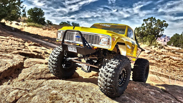Pro Series Vaterra Ascender Narrow Front Bumper with Trail Bar - scalerfab-r-c-trail-armor-accessories scale rc crawler truck hobby