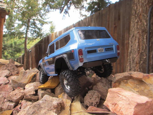 Redcat Racing Gen8 Scout II Rear Bumper - scalerfab-r-c-trail-armor-accessories scale rc crawler truck hobby