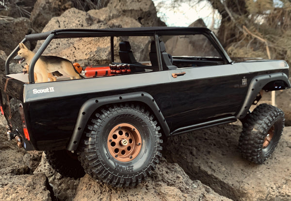 Redcat Racing Gen8 Scout II Rock Sliders - scalerfab-r-c-trail-armor-accessories scale rc crawler truck hobby