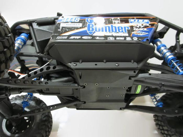 RR10 Bomber Rock Sliders with Skids - scalerfab-r-c-trail-armor-accessories scale rc crawler truck hobby