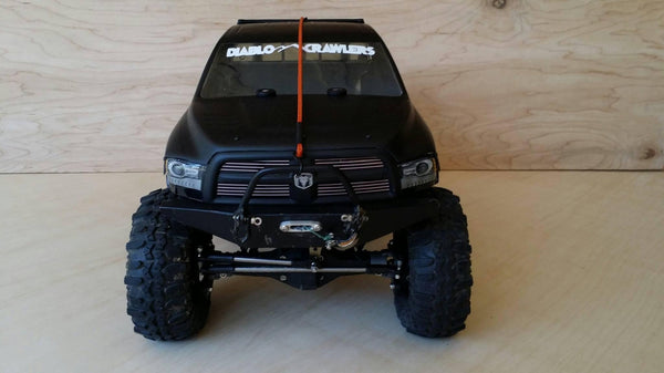 SCX10 Full-Size Power Wagon/Honcho/NuKizer Front Bumper with Trail Bar - scalerfab-r-c-trail-armor-accessories scale rc crawler truck hobby