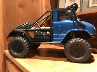 SCX10 II UMG10 Rock Sliders - scalerfab-r-c-trail-armor-accessories scale rc crawler truck hobby