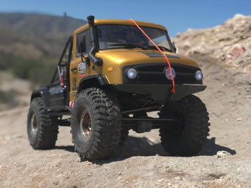 SCX10 II UMG10 Unimog Low-Profile Full-Size Front Bumper
