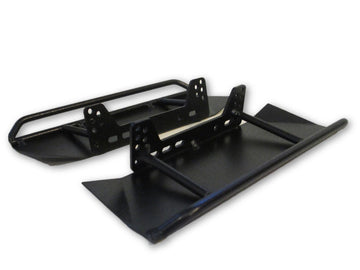 SCX10/SCX10 II Double Bar Rock Sliders w/ Skid Plates