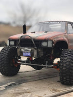 SCX10/SCX10 II Raised Comp-Style SR5/Honcho Front Bumper with Trail Bar - scalerfab-r-c-trail-armor-accessories scale rc crawler truck hobby