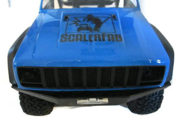 SCX10/SCX10 II XJ Full-Size Front Bumper - scalerfab-r-c-trail-armor-accessories scale rc crawler truck hobby