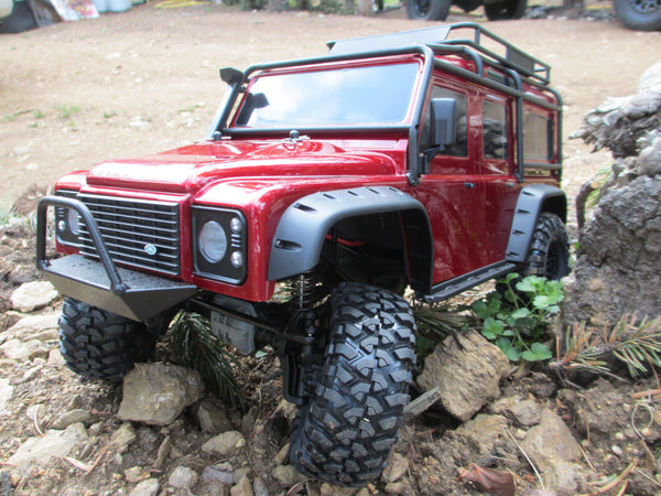Traxxas TRX-4 D90 Narrow Front Bumper with Trail Bar - scalerfab-r-c-trail-armor-accessories scale rc crawler truck hobby