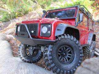 Traxxas TRX4 D90 Full-Size Front Bumper w/ Trail Bar - scalerfab-r-c-trail-armor-accessories scale rc crawler truck hobby