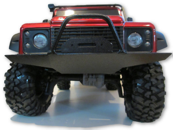 Traxxas TRX4 D90 Replica Full-Size Front Bumper - scalerfab-r-c-trail-armor-accessories scale rc crawler truck hobby