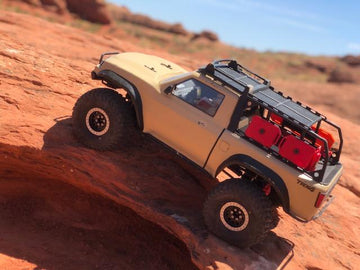 Traxxas TRX4 Sport Rock Sliders (Optional Add-Ons Available)