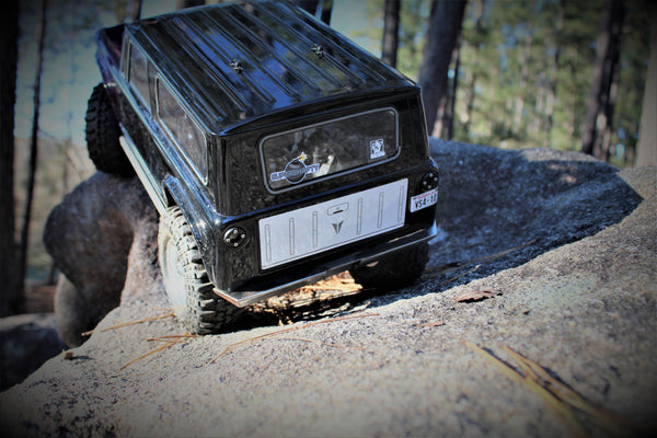 Vanquish VS4-10 Rear Bumper - scalerfab-r-c-trail-armor-accessories scale rc crawler truck hobby