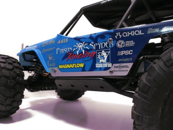 Wraith Rock Sliders - scalerfab-r-c-trail-armor-accessories scale rc crawler truck hobby