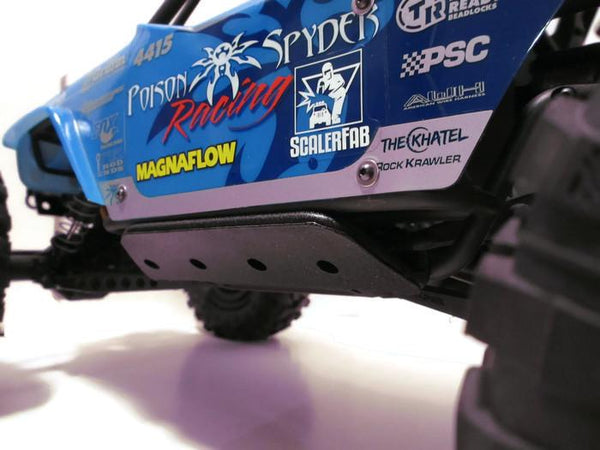 Wraith Rock Sliders with Skid Plates - scalerfab-r-c-trail-armor-accessories scale rc crawler truck hobby