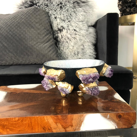 Amethyst Decor Bowl