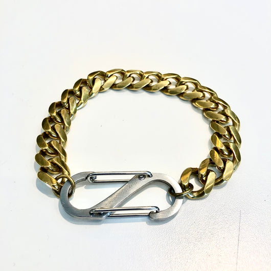 Golden Curb Chain