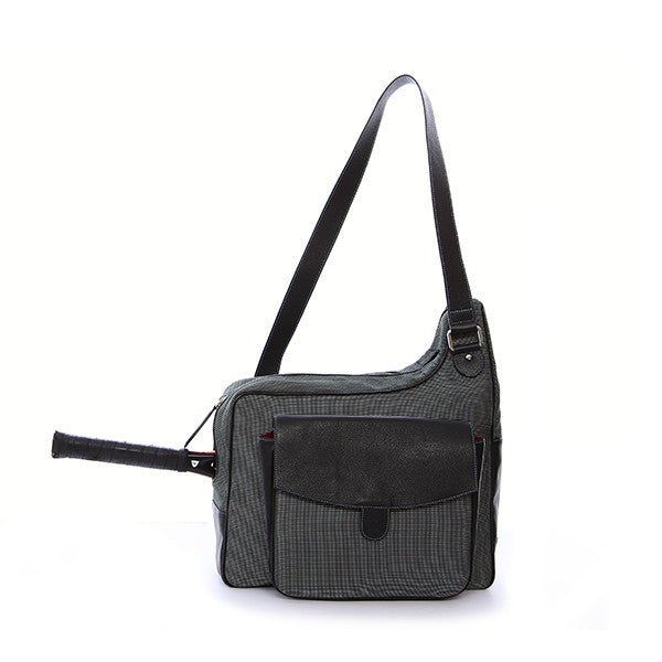 Houndstooth Cortiglia Sport Messenger Tennis Bag