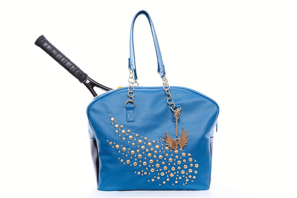 THE BLUE CROWN BAG BY MARION BARTOLI