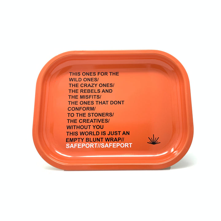 DO NOT CONFORM ROLLING TRAY